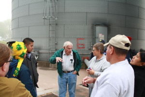 We had a farm tour this week with a group from Honduras.