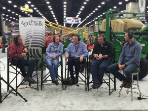"Doing an ""in-person"" version of AgriTalk at the National Farm Machinery Show."